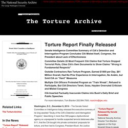 The Top Ten Torture Documents You Need to Read