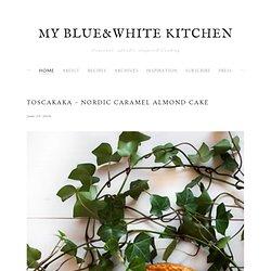 Toscakaka – Nordic Caramel Almond Cake — my blue&white kitchen