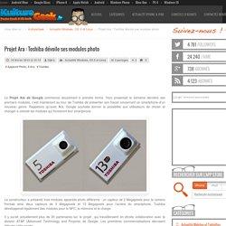 Projet Ara : Toshiba dévoile ses modules photo
