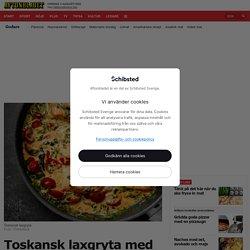 Toskansk laxgryta – recept med spenat och tomat
