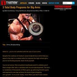 3 Total Body Programs for Big Arms