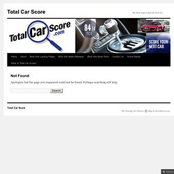 Total Car Score Names Top 10 Fastest Cars of 2013 - TotalCarScore.com
