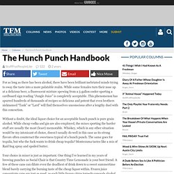 The Hunch Punch Handbook
