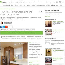 Your Total Home Organizing and Decluttering Guide