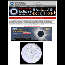 NASA - Total Solar Eclipse of 2017 August 21