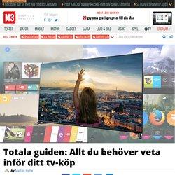 Totala guiden: Allt du beh ver veta inf r ditt smart-tv-k p