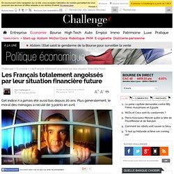 Les Français totalement angoissés par leur situation financière future
