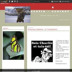 """Rhétorique Totalitaire : Le """"Complotisme""""…"""