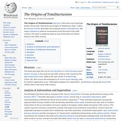 The Origins of Totalitarianism - Wikipedia