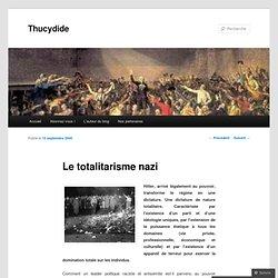 Le totalitarisme nazi