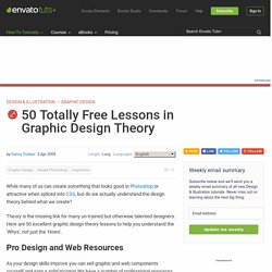 50 Totally Free Lessons in Graphic Design Theory | Psdtuts+