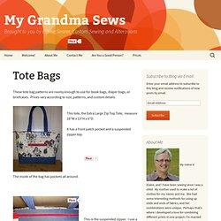 My Grandma Sews