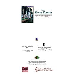 To the Totem Forests: Emily Carr and Contemporaries