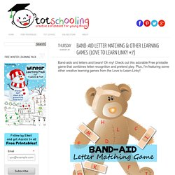 Totschooling - Toddler and Preschool Educational Printable Activities