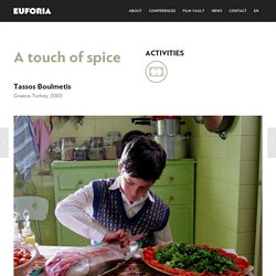 A touch of spice Activities – EUFORIA