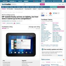 from TechRadar UK's expert reviews of Tablets