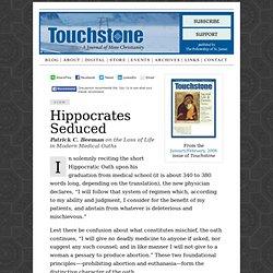 Touchstone Archives: Hippocrates Seduced