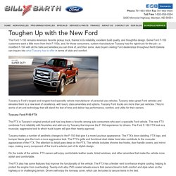 Toughen Up with the New Ford
