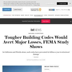 Tougher Building Codes Would Avert Major Losses, FEMA Study Shows