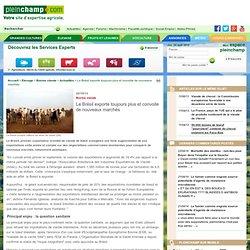 PLEINCHAMP 22/10/13 Bovins viande - Le Brésil exporte toujours plus et convoite de nouveaux marchés
