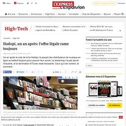 Hadopi, un an après: l'offre légale rame toujours