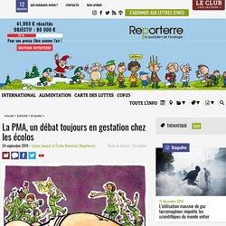 La PMA, un débat toujours en gestation chez les écolos