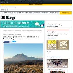 Du magma toujours liquide sous les volcans de la Chaîne des Puys