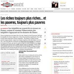 Les riches toujours plus riches... et les pauvres, toujours plus pauvres
