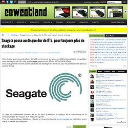 Seagate passe au disque dur de 8To, pour toujours plus de stockage - Stockage