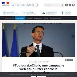 #ToujoursLeChoix, une campagne web pour lutter contre la radicalisation