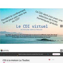 CDI à la maison Le Toullec by sandrina.hubert1 on Genial.ly
