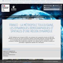France - La métropole toulousaine, les dynamiques démographiques et