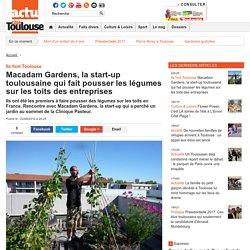Macadam Gardens, la start-up toulousaine qui fait pousser les légumes sur les toits des entreprises