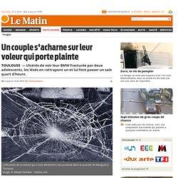 Toulouse: Un couple s'acharne sur leur voleur qui porte plainte - Faits Divers