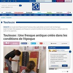 Toulouse : Une fresque antique créée dans les conditions de l'époque