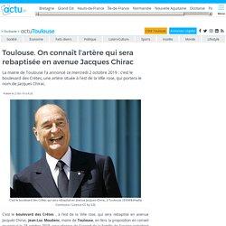 On connaît l'artère qui sera rebaptisée en avenue Jacques Chirac