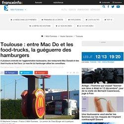 FRANCE 3 MIDI PYRENEES 11/12/13 Toulouse : entre Mac Do et les food-trucks, la guéguerre des hamburgers.
