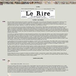Henri de Toulouse-Lautrec > Lithographies > Le Rire