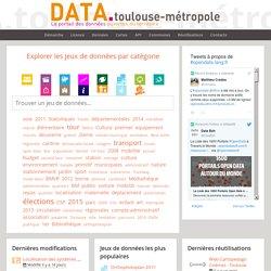 Open Data Toulouse Metropole — Accueil