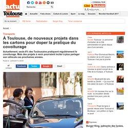 À Toulouse, de nouveaux projets dans les cartons pour doper la pratique du covoiturage