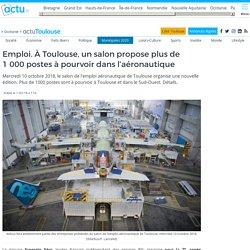 Emploi. À Toulouse, un salon propose plus de 1000 postes à pourvoir dans l'aéronautique