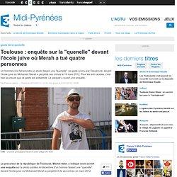 """Toulouse : enquête sur la """"quenelle"""" devant l'école juive où Merah a tué quatre personnes"""