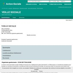 TOULOUSE : VEILLE SOCIALE - Autre centre d'accueil