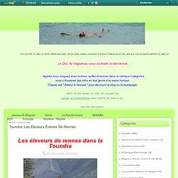 Toundra: Les éleveurs évènes de rennes