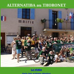 TOUR ALTERNATIBA au Thoronet