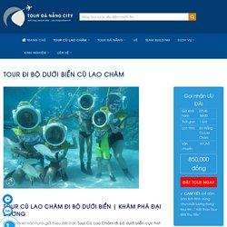 Tour Đi Bộ Dưới Biển Cù Lao Chàm 1 Ngày