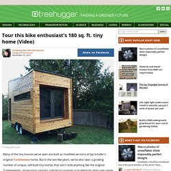 Tour this bike enthusiast's 180 sq. ft. tiny home (Video)