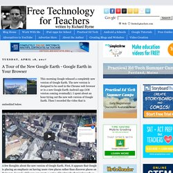 A Tour of the New Google Earth - Google Earth in Your Browser