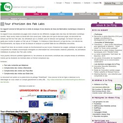 Tour d'horizon des Fab Labs