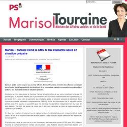 Marisol Touraine étend la CMU-C aux étudiants isolés en situation précaire